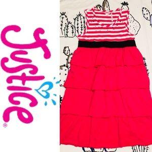 Justice Dresses - Justice Sleeveless Ruffle Bottom Dress